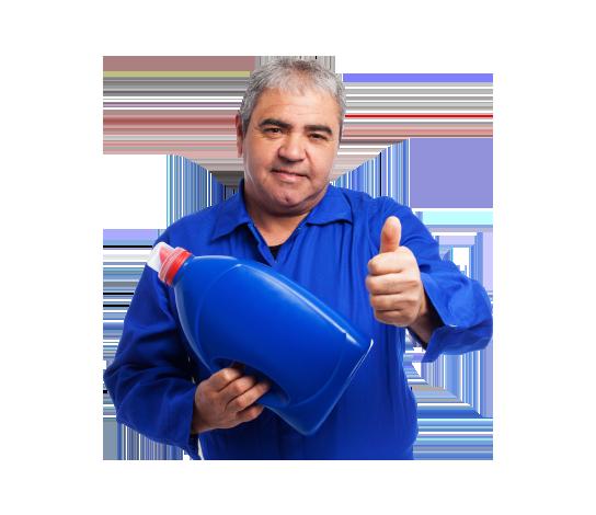 portrait-mechanic-holding-oil-bottle